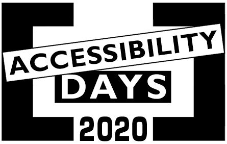 Accessibility Days 2020