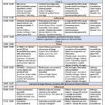 Link al PDF dell'agenda del sabato