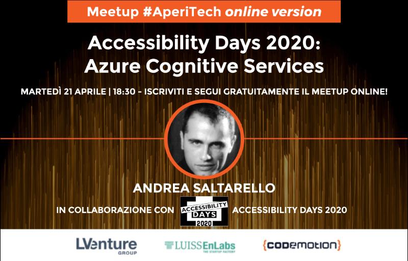 "Copertina webinar ""Azure Cognitive Services"""