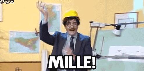 "L'Ingegner Cane esclama ""Mille!"""
